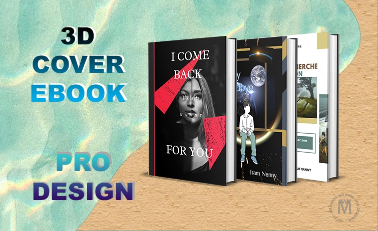 3D Cover E-Book Design